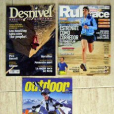 Coleccionismo deportivo: 3 REVISTAS DEPORTIVAS. Lote 46500755