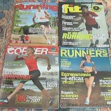 Coleccionismo deportivo: LOTE 4 REVISTAS DE RUNNING. Lote 46539016