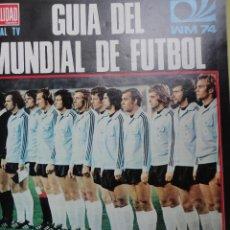 Coleccionismo deportivo: REVISTAS ENCUADERNADAS. LA ACTUALIDAD ESPAÑOLA. DEPORTE 2000 EXTRA 1974. VARIAS REVISTAS. Lote 46704516