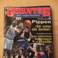 Coleccionismo deportivo: GIGANTES DEL SUPERBASKET, 434, 28-02-1994. PIPPEN, JORDAN, SHAQUILLE, REAL MADRID- BARCELONA. Lote 46869839