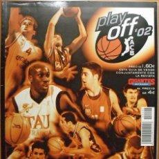 Coleccionismo deportivo: REVISTA ''GIGANTES'' - ESPECIAL PLAYOFFS DE LA ACB - 2002. Lote 46871081