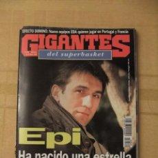 Coleccionismo deportivo: GIGANTES DEL SUPERBASKET, 540, 05-03-1996. JUAN ANTONIO SAN EPIFANIO 'EPI'.. Lote 46887793