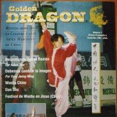 Coleccionismo deportivo: REVISTA DE ARTES MARCIALES ''GOLDEN DRAGON'' - Nº 1 (1996). Lote 47274583