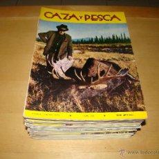 Coleccionismo deportivo: LOTE DE ANTIGUAS REVISTAS CAZA Y PESCA - AÑOS 70. Lote 47290043