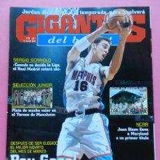 Coleccionismo deportivo: REVISTA GIGANTES DEL BASKET Nº 858 2002 PAU GASOL NBA-POSTER GIJON 01/02-NCAA MARYLAND-SCARIOLO. Lote 47318513