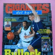 Coleccionismo deportivo: REVISTA GIGANTES DEL BASKET Nº 864 2002 BULLOCK UNICAJA-PAU GASOL-POSTER GLOBETROTTERS--KINGS NBA. Lote 47319660