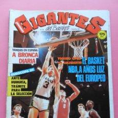 Coleccionismo deportivo: REVISTA GIGANTES DEL BASKET Nº 105 1987 OPEN MILWAUKEE NBA-JACK SIKMA-POSTER TERRY CUMMINGS-ESPAÑA. Lote 47331565