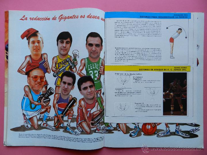 Coleccionismo deportivo: REVISTA GIGANTES DEL BASKET Nº 113 1988 ROMAY ROCKETS NBA-BARCELONA CAMPEON COPA REY-BIRD-BARKLEY - Foto 3 - 47348640