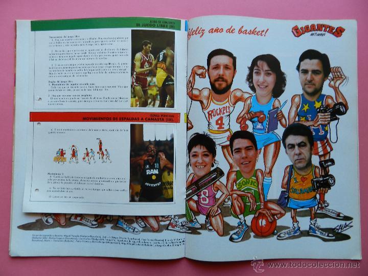 Coleccionismo deportivo: REVISTA GIGANTES DEL BASKET Nº 113 1988 ROMAY ROCKETS NBA-BARCELONA CAMPEON COPA REY-BIRD-BARKLEY - Foto 4 - 47348640