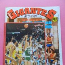 Coleccionismo deportivo: REVISTA GIGANTES DEL BASKET Nº 136 1988 PEGATINA LARRY BIRD CELTICS-CORBALAN-POSTER ESPAÑA-STICKER. Lote 47353497
