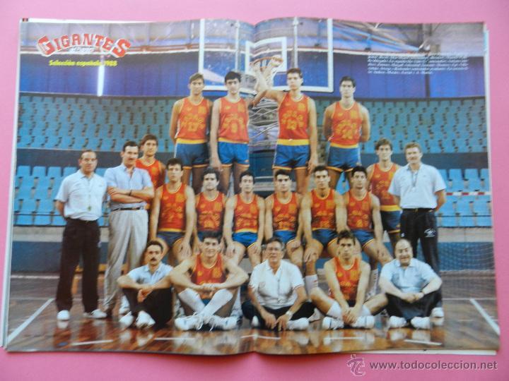 Coleccionismo deportivo: REVISTA GIGANTES DEL BASKET Nº 136 1988 PEGATINA LARRY BIRD CELTICS-CORBALAN-POSTER ESPAÑA-STICKER - Foto 5 - 47353497