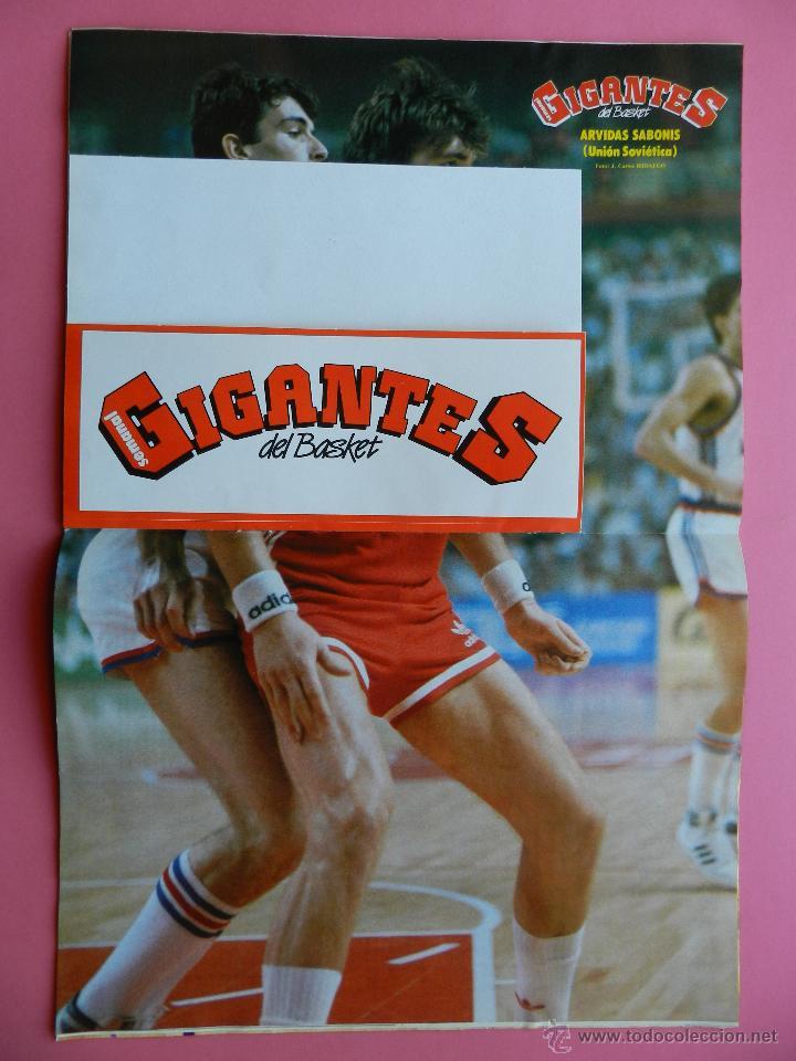 Coleccionismo deportivo: REVISTA GIGANTES DEL BASKET Nº 151 1988 PEGATINA ENGLISH NUGGETS-JJOO SEUL 88-POSTER SABONIS AFF - Foto 4 - 47367971