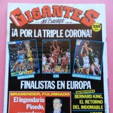 Coleccionismo deportivo: REVISTA GIGANTES DEL BASKET Nº 279 1991 POSTER ELOSUA LEON-BERNARD KING-LISARD-CAI FINAL RECOPA-NBA. Lote 47368006