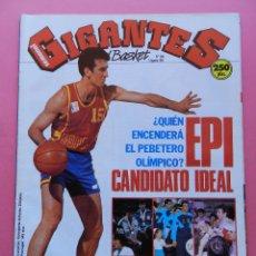 Coleccionismo deportivo: REVISTA GIGANTES DEL BASKET Nº 300 1991 EPI-MARCELO NICOLA TAU-AZOFRA-POSTER MARK DAVIS CAI-MUTOMBO. Lote 47371836