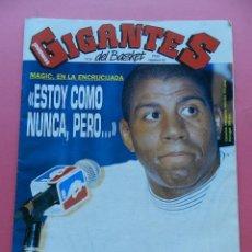 Coleccionismo deportivo: REVISTA GIGANTES DEL BASKET Nº 358 1992 MAGIC JOHNSON SIDA-FORUM VALLADOLID-POSTER PICULIN ORTIZ. Lote 47372233