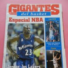 Coleccionismo deportivo: REVISTA GIGANTES DEL BASKET Nº 835 2001 ESPECIAL NBA PLANTILLAS-JORDAN WIZARDS-POSTER PAU GASOL. Lote 47459332