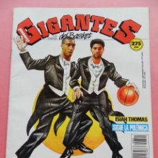 Coleccionismo deportivo: REVISTA GIGANTES DEL BASKET Nº 310 1991 BARÇA-JOVENTUT-ISIAH THOMAS NBA-POSTER CORNY THOMPSON-ACB. Lote 47459412