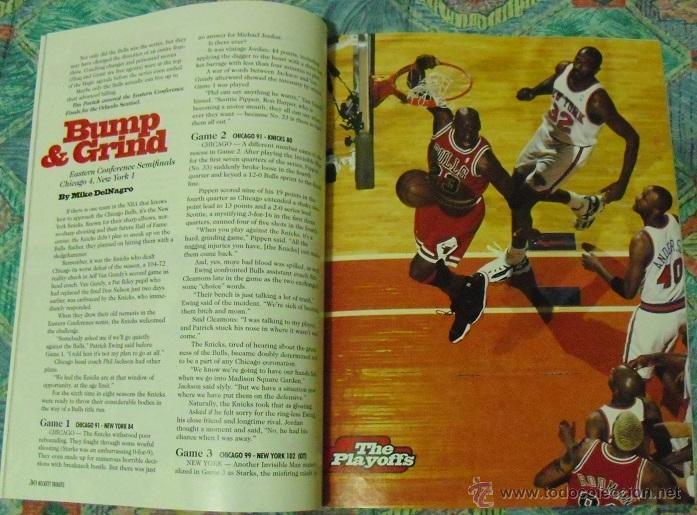 Coleccionismo deportivo: Michael Jordan - Revista especial ''Bulls - Fantastic four'' (1996) - Cuarto anillo - NBA - Foto 2 - 47512164