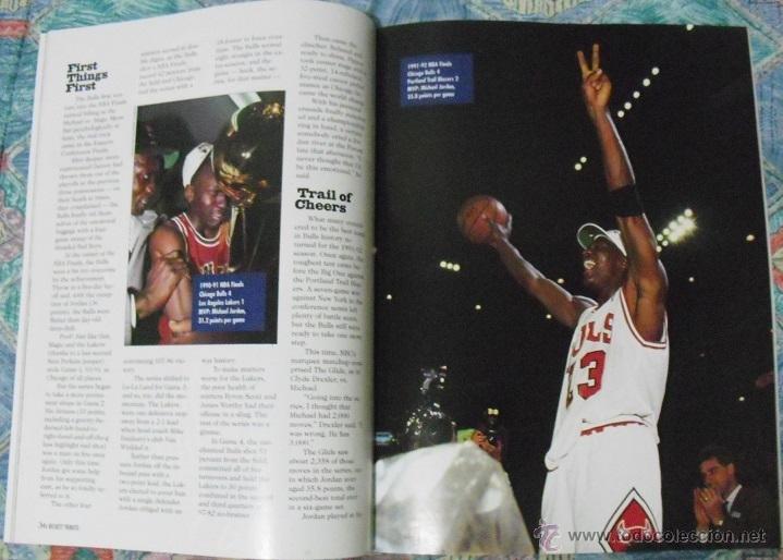 Coleccionismo deportivo: Michael Jordan - Revista especial ''Bulls - Fantastic four'' (1996) - Cuarto anillo - NBA - Foto 3 - 47512164