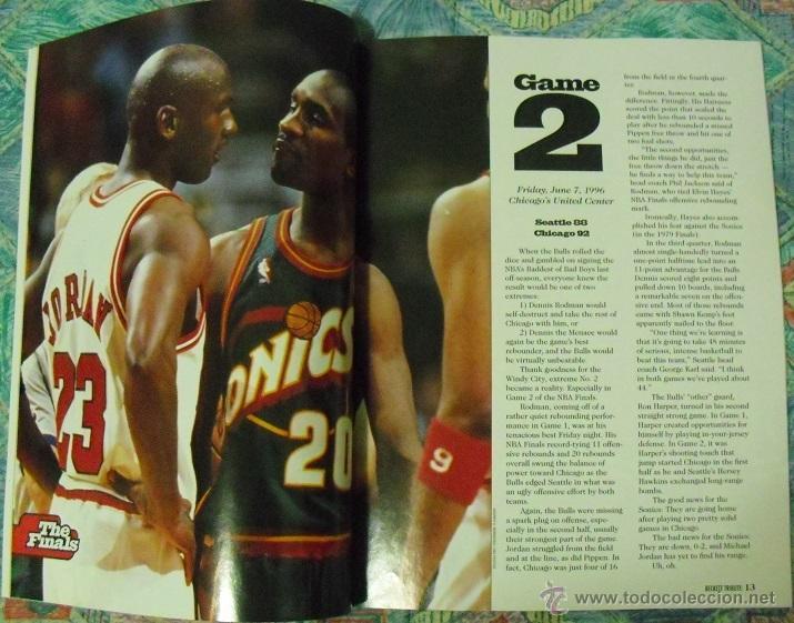 Coleccionismo deportivo: Michael Jordan - Revista especial ''Bulls - Fantastic four'' (1996) - Cuarto anillo - NBA - Foto 4 - 47512164
