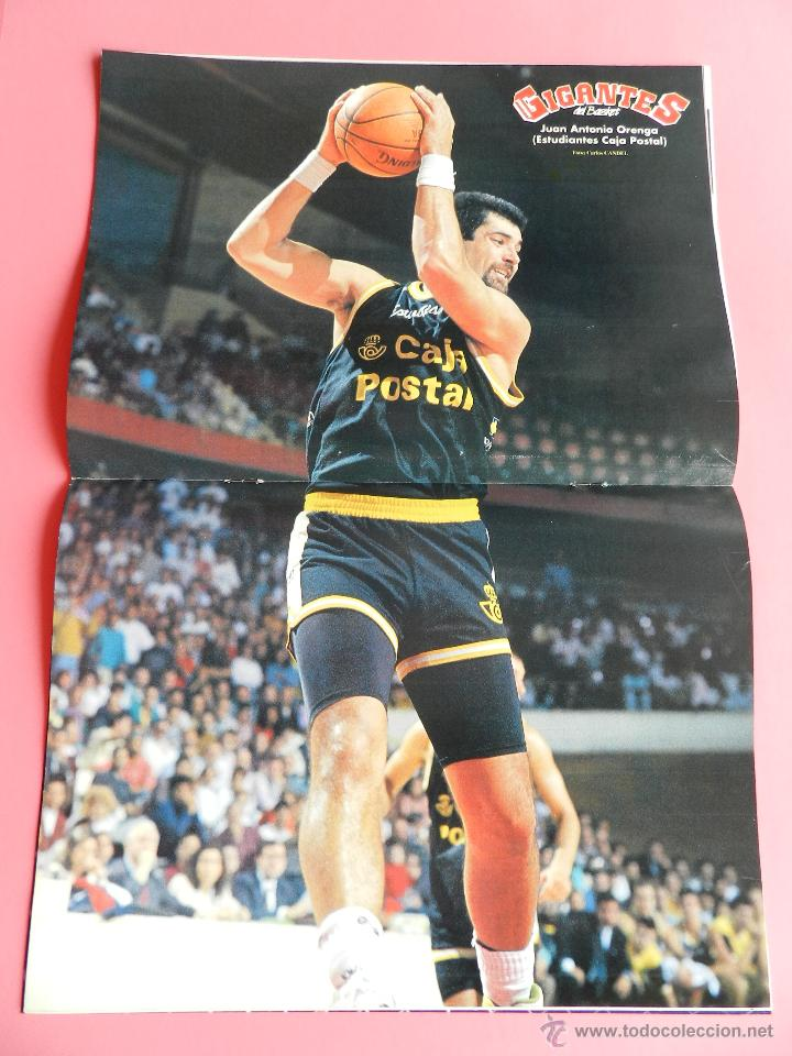 Coleccionismo deportivo: REVISTA GIGANTES DEL BASKET Nº 314 1991 POSTER ORENGA ESTUDIANTES-DRAZEN PETROVIC NBA-SABONIS - Foto 2 - 47528439