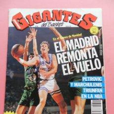 Coleccionismo deportivo: REVISTA GIGANTES DEL BASKET Nº 322 1992 POSTER HOMENAJE MAGIC JOHNSON LAKERS-PETROVIC-MARCHULENIS. Lote 47529854