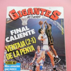 Coleccionismo deportivo: REVISTA GIGANTES DEL BASKET Nº 342 1992 REAL MADRID JOVENTUT FINAL ACB-POSTER ARLAUCKAS TAU-NBA. Lote 47543051