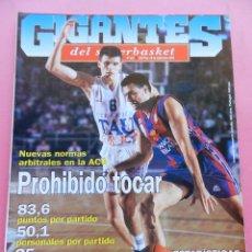 Coleccionismo deportivo: REVISTA GIGANTES DEL BASKET Nº 515 1995 DOMINIQUE WILKINS GRECIA-CHICAGO BULLS NBA-LIGA ACB NORMAS. Lote 47560240