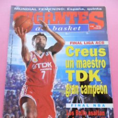 Colecionismo desportivo: RESERVADA REVISTA GIGANTES DEL BASKET 658 1998 TDK MANRESA CAMPEON LIGA ACB 97/98 POSTER-NBA BULLS. Lote 47561074