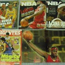 Coleccionismo deportivo: LEBRON JAMES - REVISTAS DE BASKET (''GIGANTES '' Y ''REVISTA NBA''). Lote 41802205