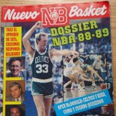 Coleccionismo deportivo: REVISTA BALONCESTO NUEVO BASKET 178 LARRY BIRD DOSSIER NBA 1988 - 89 . Lote 48282474