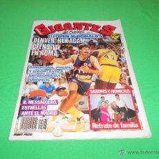 Coleccionismo deportivo: REVISTA GIGANTES DEL BASKET - Nº 207 - 1989 - CON POSTER CENTRAL DE ALEXANDER BELOSTENNY. Lote 48583867