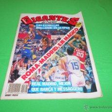 Coleccionismo deportivo: REVISTA GIGANTES DEL BASKET - Nº 208 - 1989 - CON POSTER CENTRAL DE MARK SIMPSON. Lote 48583877