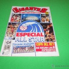 Coleccionismo deportivo: REVISTA GIGANTES DEL BASKET - Nº 223 - 1990 - ESPECIAL ALL STAR - CON POSTER DESPLEGABLE. Lote 48593994