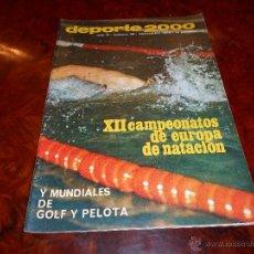 Coleccionismo deportivo: DEPORTE 2000 Nº 20 EL DEPORTE ESPAÑOL EN 1969 AÑO 1970. Lote 48656265