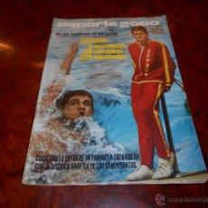 Coleccionismo deportivo: DEPORTE 2000 Nº 21 EL DEPORTE ESPAÑOL EN 1969 AÑO 1970. Lote 48656361