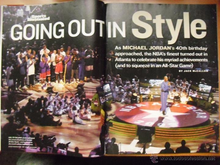 Coleccionismo deportivo: Michael Jordan - Revista ''Sports Illustrated'' - 40.º cumpleaños (2003) - NBA - Foto 2 - 48680121