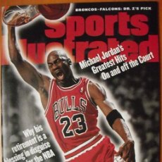 Coleccionismo deportivo: MICHAEL JORDAN - REVISTA ''SPORTS ILLUSTRATED'' - RETIRADA DE 1999 - NBA. Lote 48876538