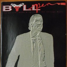 Coleccionismo deportivo: MICHAEL JORDAN - REVISTA ''BULLPEN'' - CHICAGO BULLS (1990) - NBA. Lote 48926352