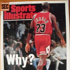 Coleccionismo deportivo: MICHAEL JORDAN - REVISTA ''SPORTS ILLUSTRATED'' - RETIRADA DE 1993 - NBA. Lote 48976930