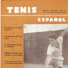 Coleccionismo deportivo: REVISTA TENIS ESPAÑOL Nº 64 ABRIL 1961 . Lote 48978433