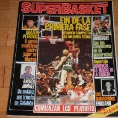 Coleccionismo deportivo: BALONCESTO.REVISTA SUPERBASKET Nº3 MAYO 1986.. Lote 49037257