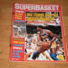 Coleccionismo deportivo: BALONCESTO.REVISTA SUPERBASKET Nº17 JULIO 1987.. Lote 66192854