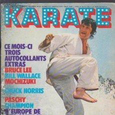 Colecionismo desportivo: KARATE - Nº 22 - JUNIO 1976 - EN FRANCES. Lote 49083524