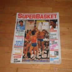 Coleccionismo deportivo: BALONCESTO. REVISTA SUPERBASKET Nº5 JULIO 1986.. Lote 49117342