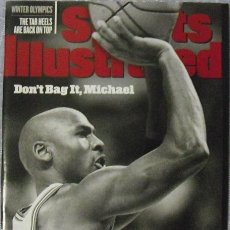 Coleccionismo deportivo: MICHAEL JORDAN & CHICAGO BULLS - REVISTA ''SPORTS ILLUSTRATED'' (FEBRERO 1998) - NBA. Lote 49158654