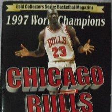 Coleccionismo deportivo: MICHAEL JORDAN & CHICAGO BULLS - ''GOLD COLLECTORS'' - ESPECIAL QUINTO ANILLO (1997) - NBA. Lote 49170582