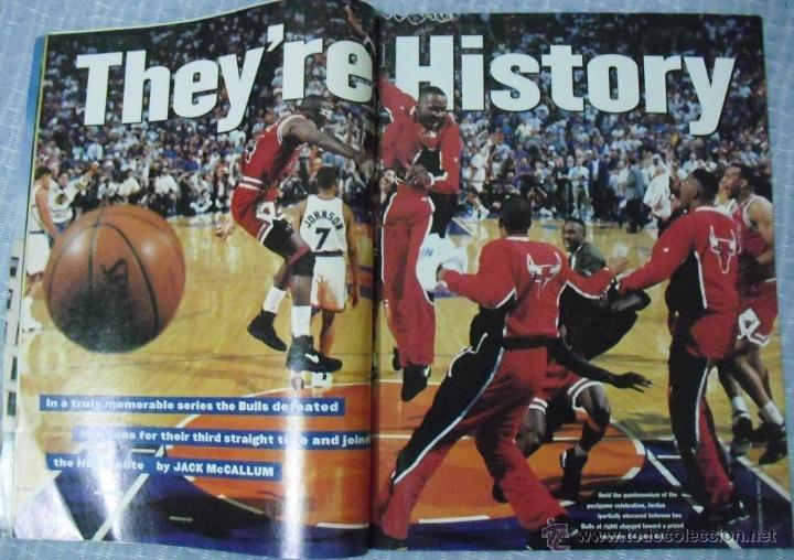 Coleccionismo deportivo: Michael Jordan & Chicago Bulls - Revista Sports Illustrated (junio 1993) - Tercer anillo - NBA - Foto 2 - 49175823