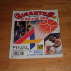 Coleccionismo deportivo: BALONCESTO. REVISTA GIGANTES DEL BASKET. Nº 232. 1990.. Lote 49234382
