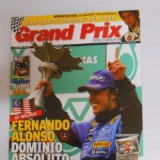 Coleccionismo deportivo: REVISTA GRAND PRIX INTERNATIONAL FORMULA 1 Nº 26. MARZO 2005. GP MALASIA. FERNANDO ALONSO... TDKR3. Lote 49254752